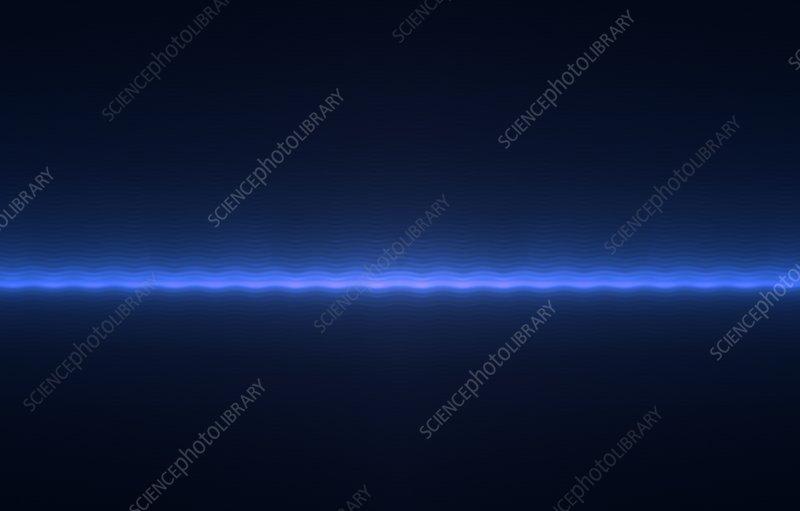 Wavy blue line background