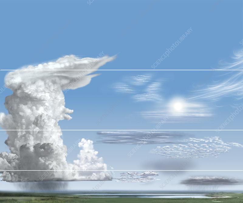 Identifying cloud