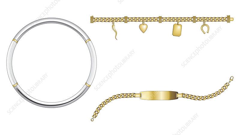 Bracelet, Illustration