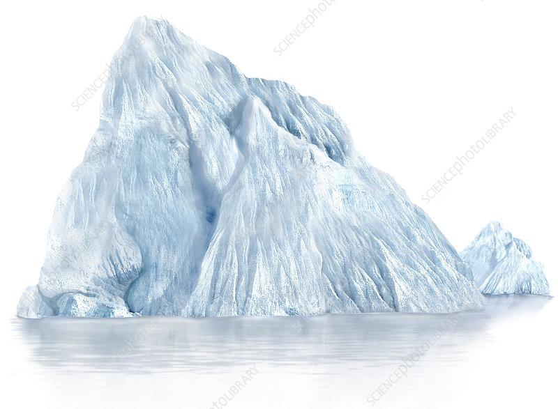 Iceberg, Illustration
