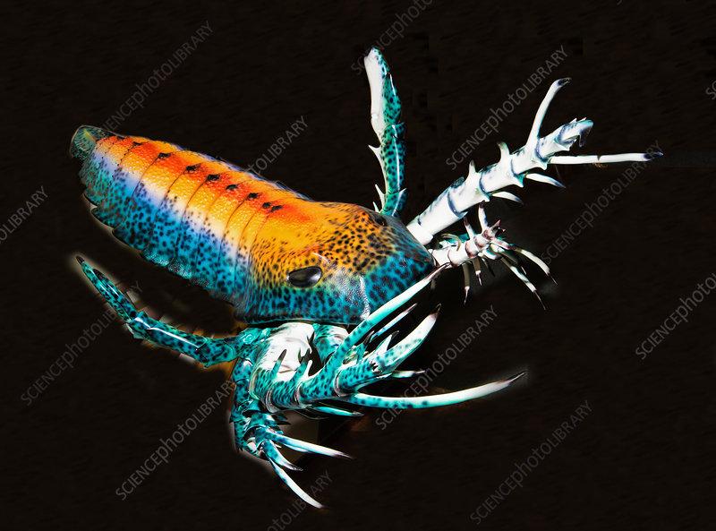 Giant Sea Scorpion Sculpture