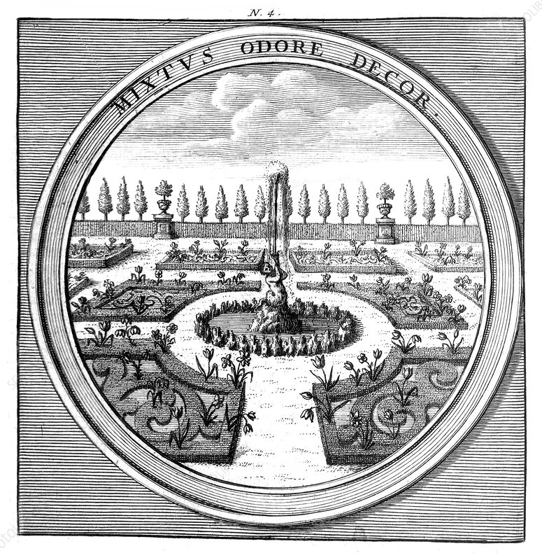 Meteorologia, Geometric Garden, 1709