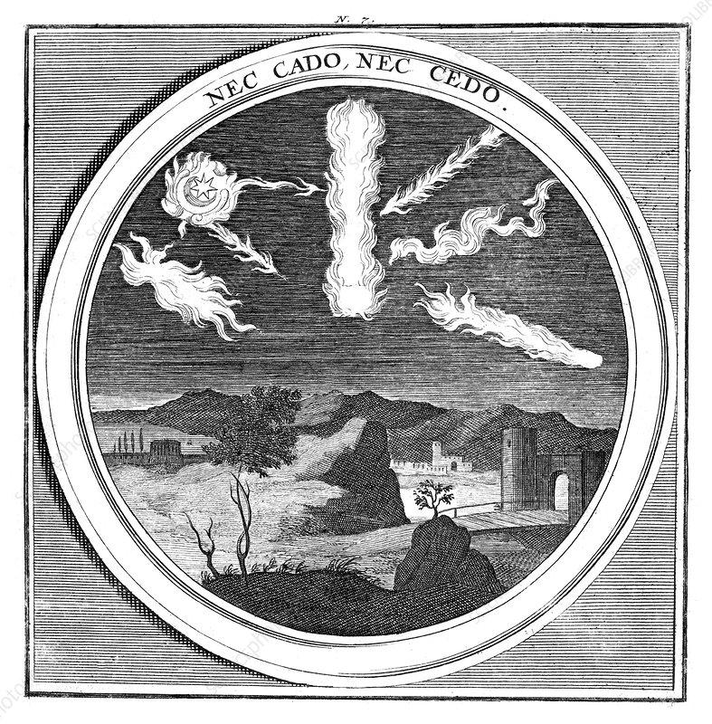Meteorologia, Natural Phenemona, 1709