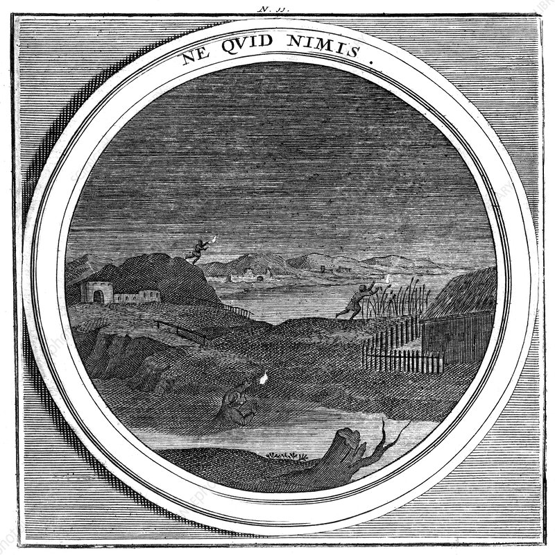 Meteorologia, Ignis Fatuus, Marsh Light, 1709