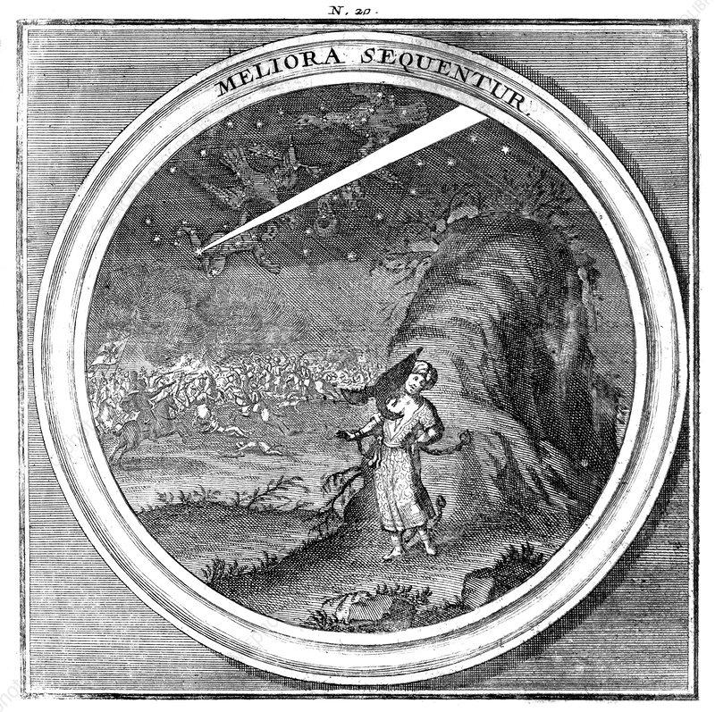 Meteorologia, Celestial Event, 1709