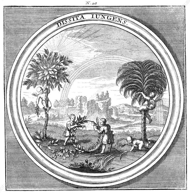 Meteorologia, Rainbow, 1709