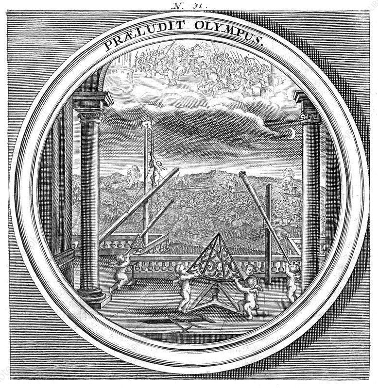 Meteorologia, Celestial Navigation, 1709
