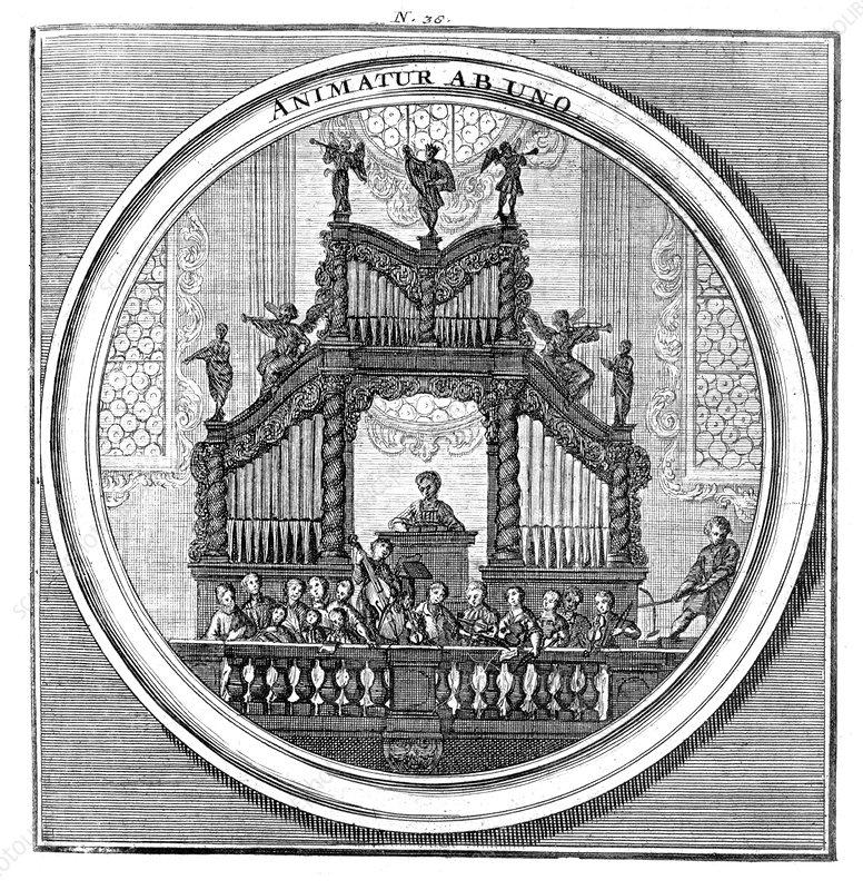 Meteorologia, Pipe Organ, 1709