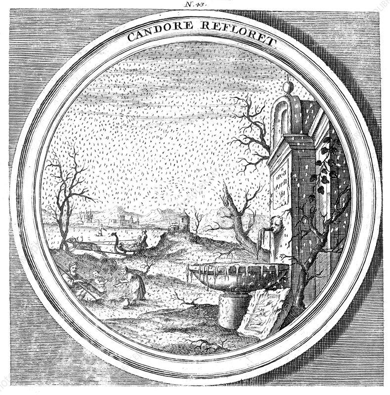 Meteorologia, Windstorm, 1709