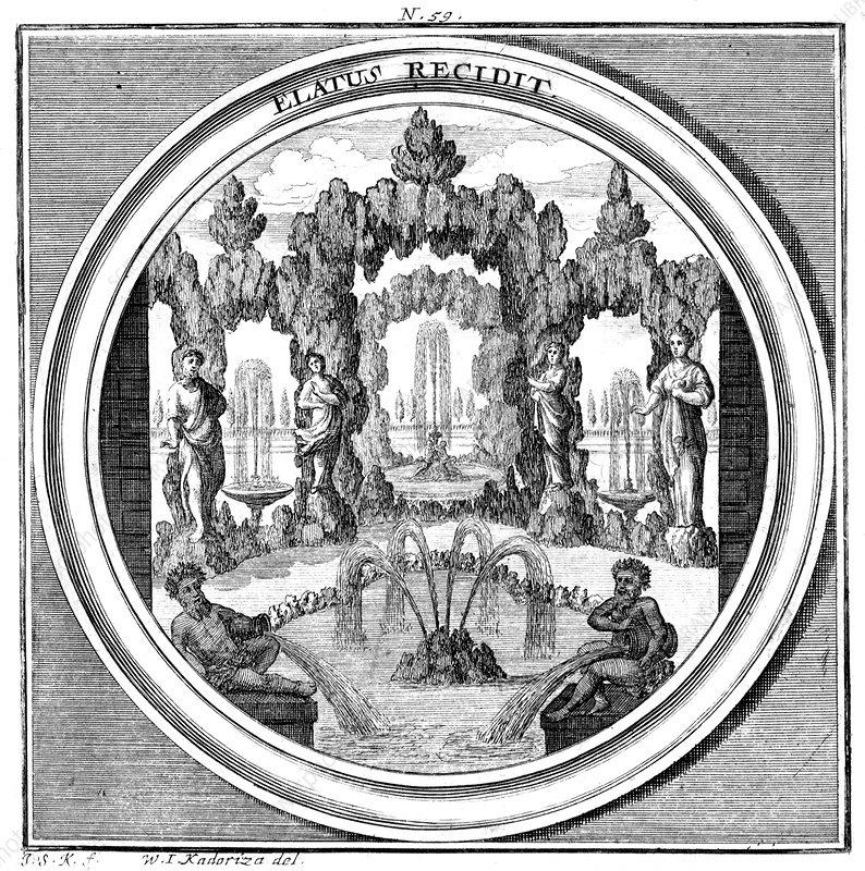 Meteorologia, Fountain, 1709