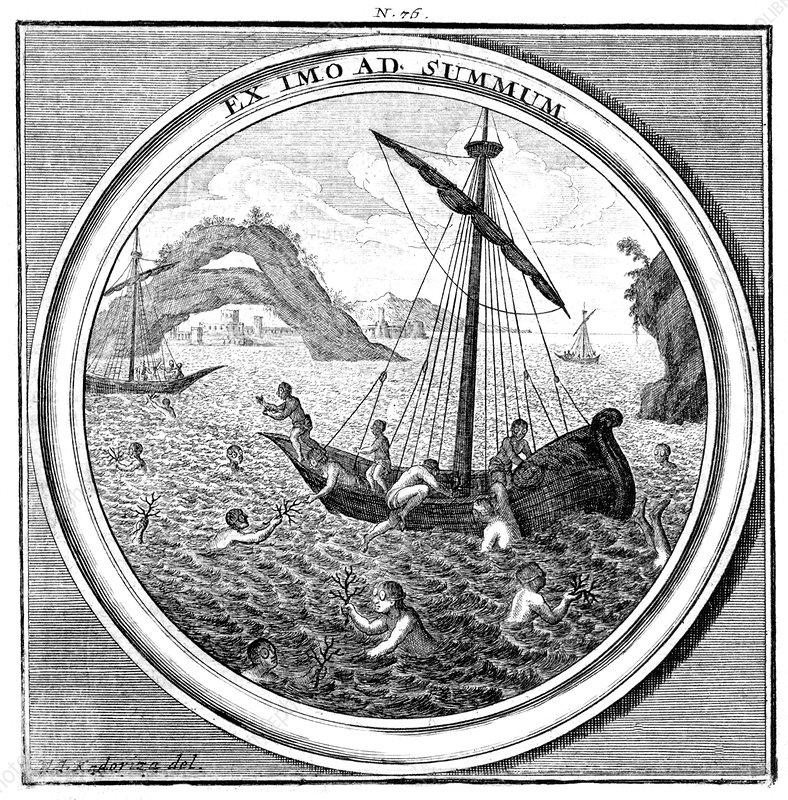 Meteorologia, Coral Diving, 1709