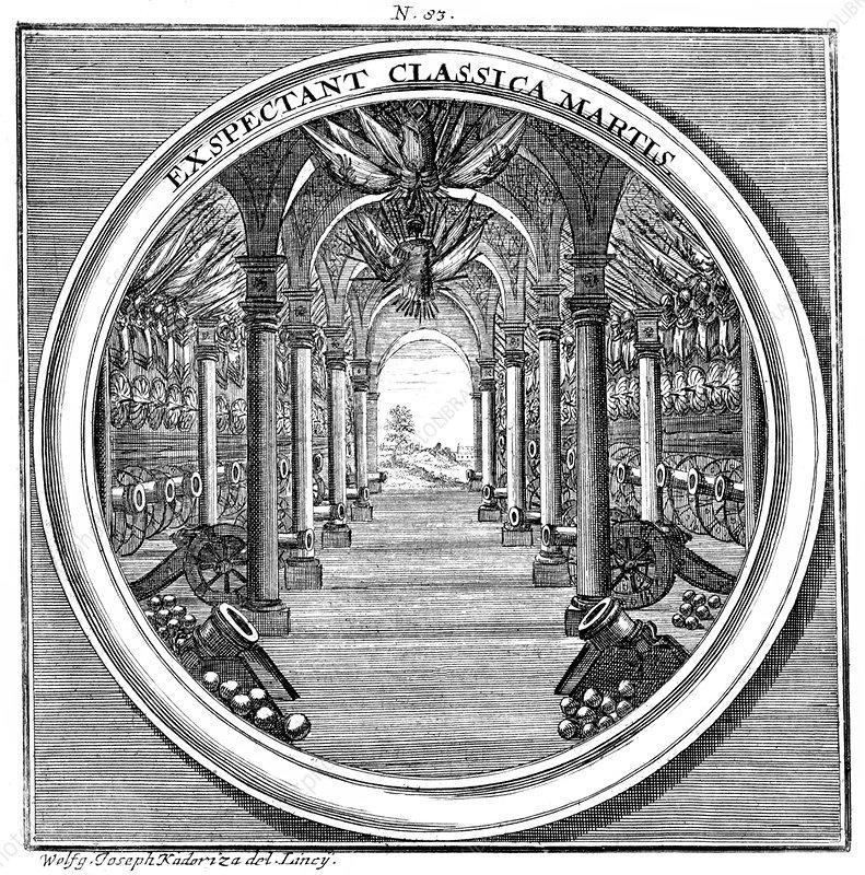 Meteorologia, Arsenal, 1709