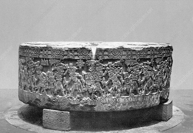 Stone of Tizoc, Aztec Sacrificial Stone