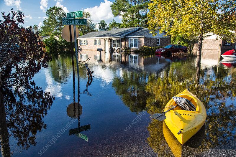 Aftermath of Hurricane Matthew, South Carolina