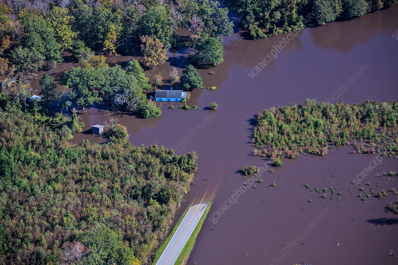 Aftermath of Hurricane Matthew, South Carolina