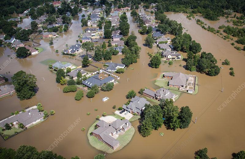 Flooding, Louisiana 2016