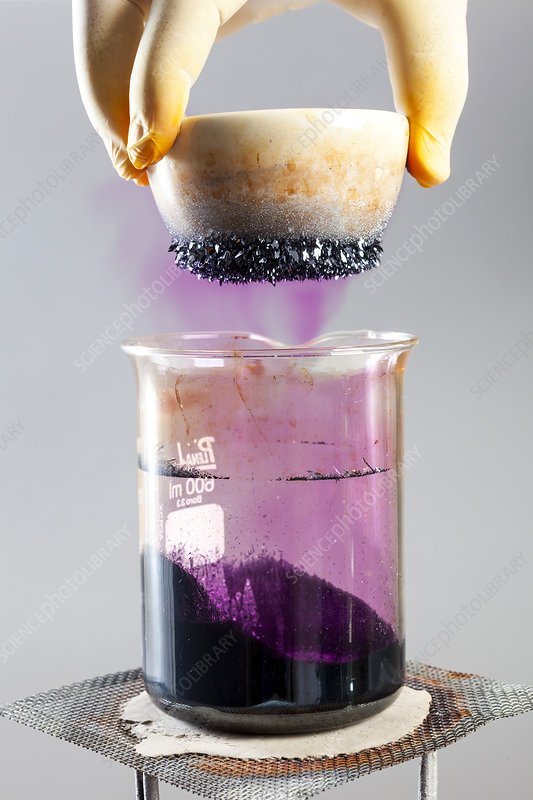 Iodine Sublimation and Condensation