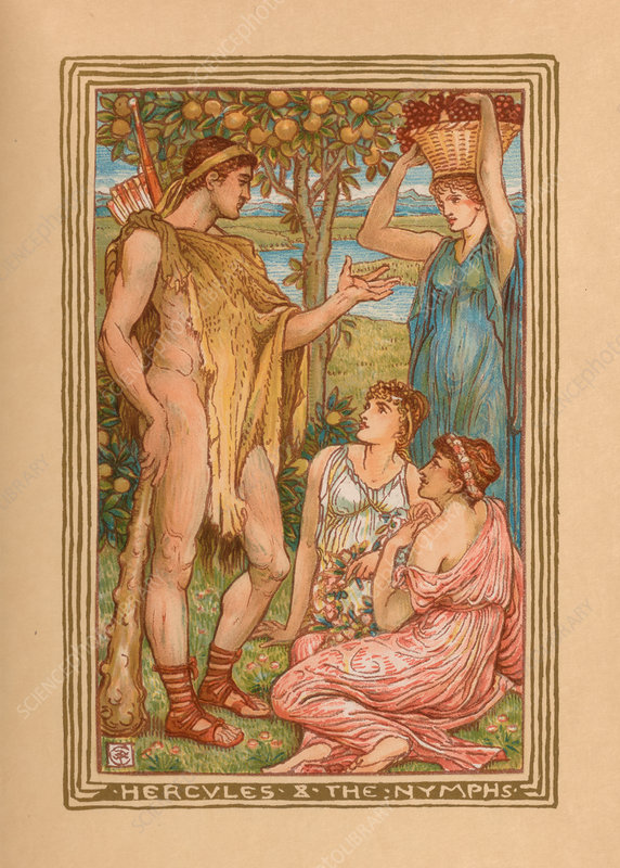 Hercules and the Nymphs