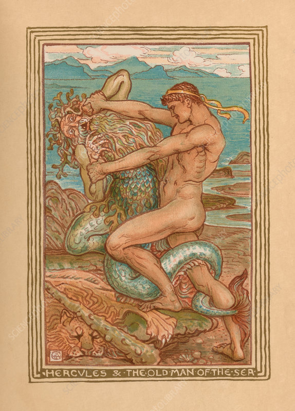 Hercules and the Old Man of the Sea