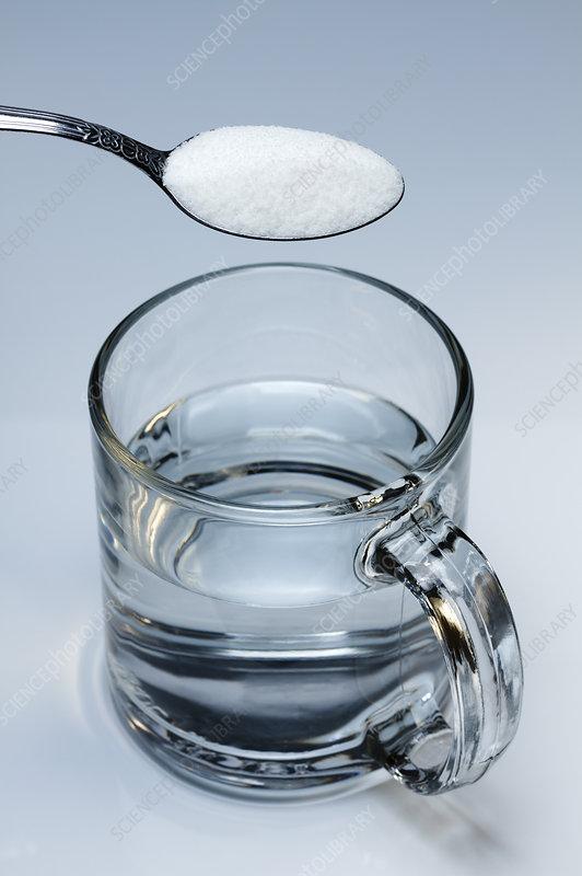 Adding sugar to water