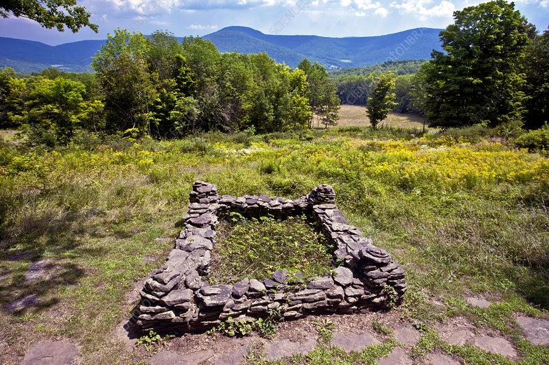 The Grave Site of John Burroughs