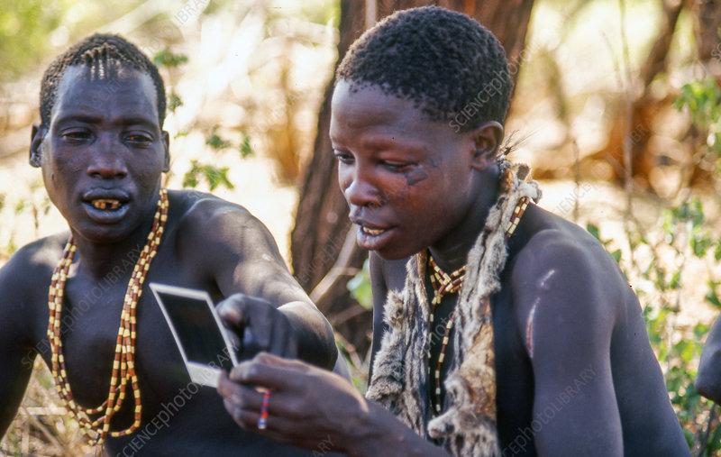 Hadza (Hadzabe, Hadzape) people, Tanzania