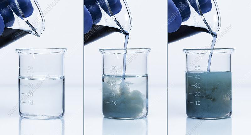 Chromium(III) phosphate formation
