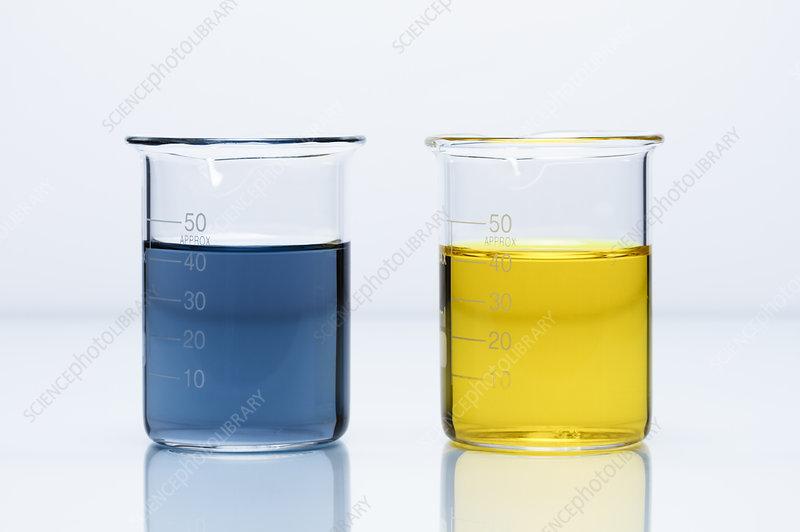 Chromium(III) and chromium(VI) solutions