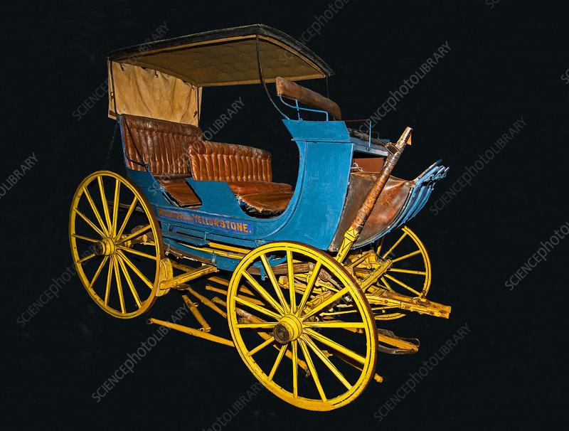 1890 Passenger Stage Coach