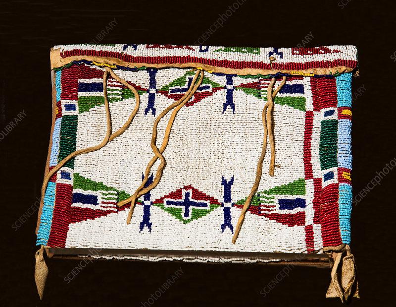 Beaded Pouch, Lakota Indian