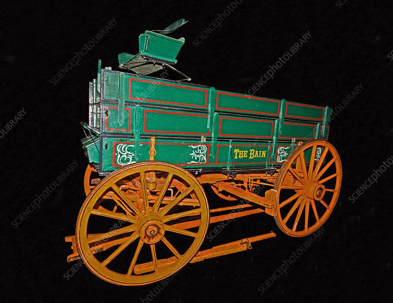 Bain Farm Wagon, 1890s