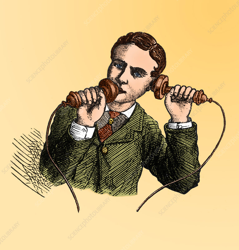 How to Use a Bell Telephone, 1876