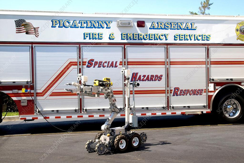 Special Hazards Response Vehicle and Robot