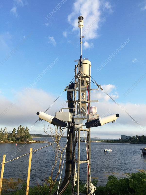 Air Quality monitoring experiment, Halifax, Canada