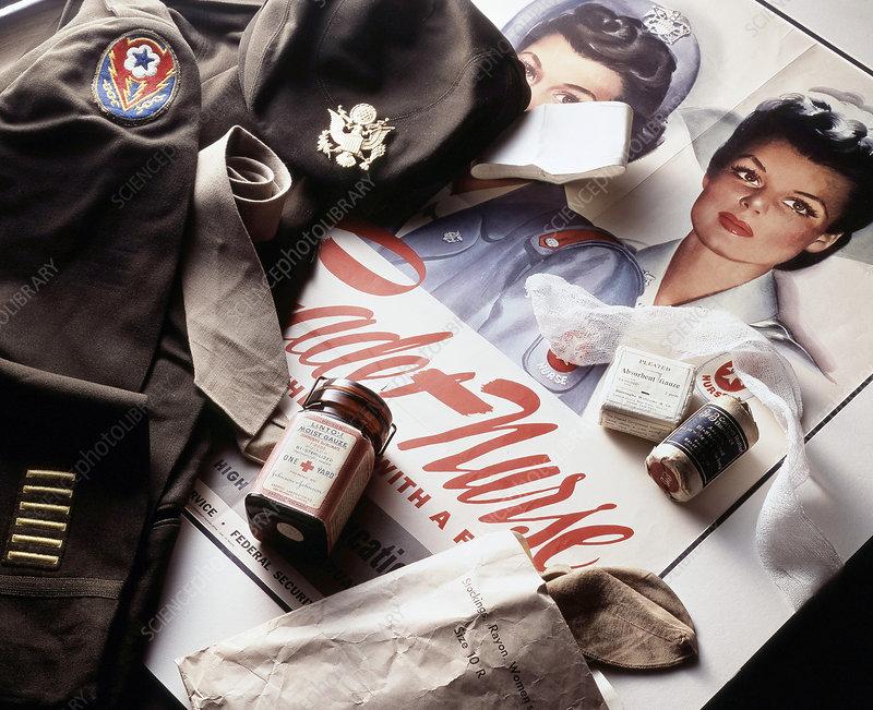 WW1 Cadet Nurse, Historical Medicine