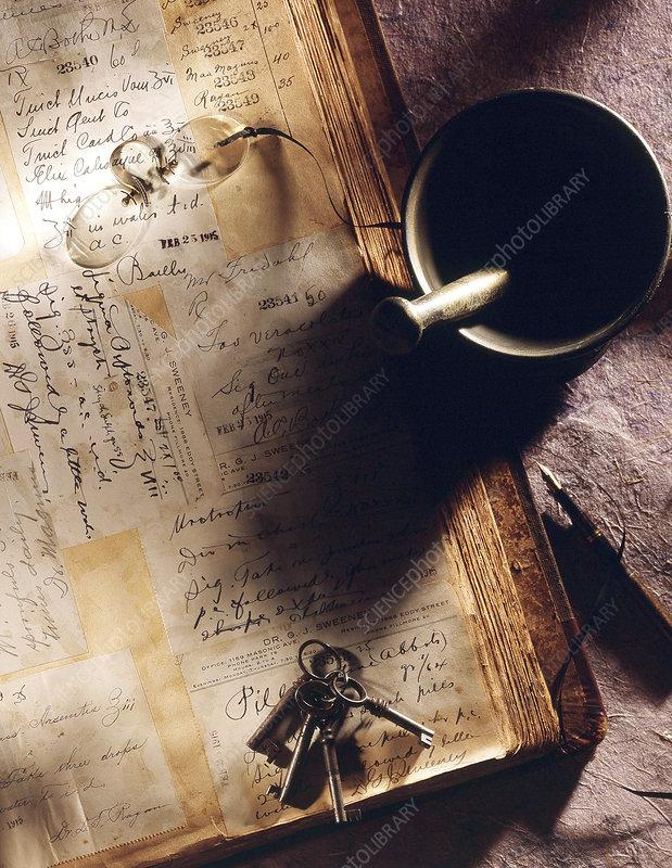 Pharmaceutical Prescriptions, Historical Medicine