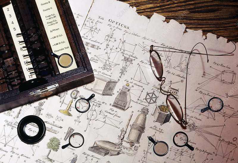 Optometry and Ophthalmology, Historical Medicine