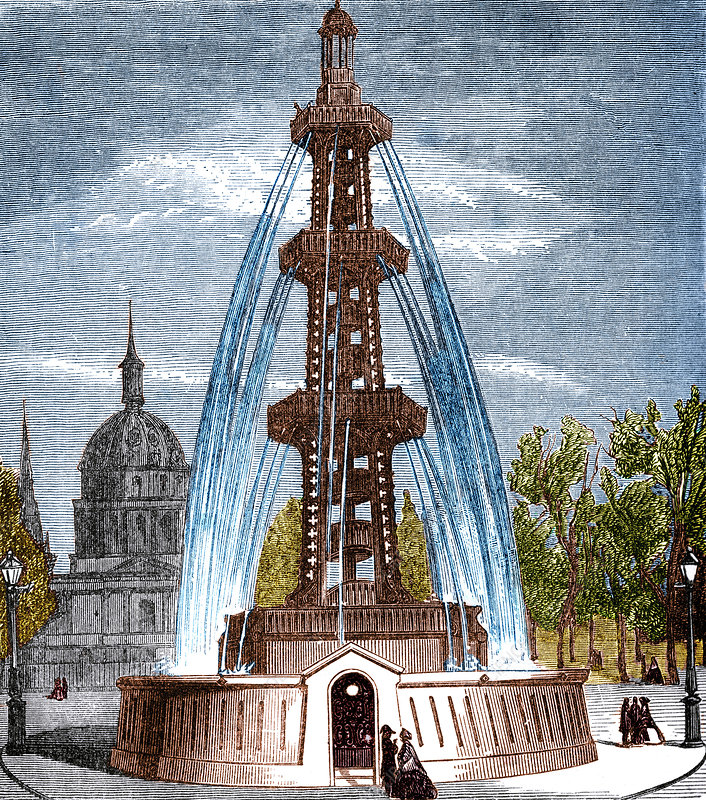 Grenelle Artesian Well of Paris, 1841