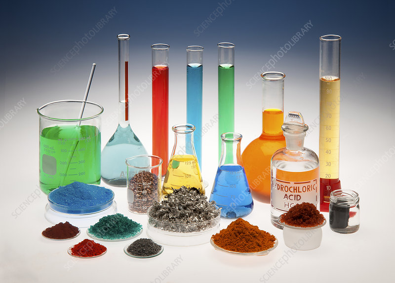 Glassware and Chemicals