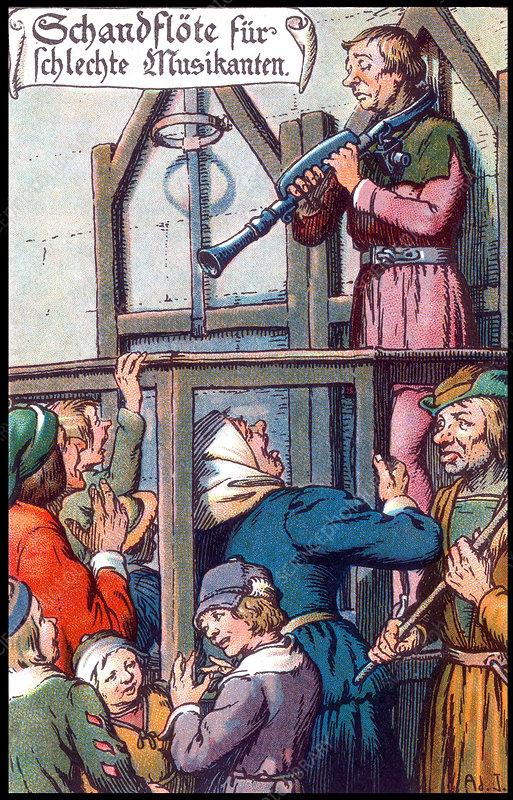Medieval Punishment, Shame Flute