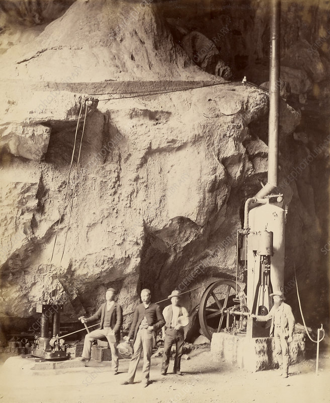 Electricity Used to Light Jenolan Caves, 1885