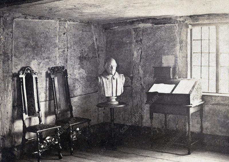 Shakespeare's Birth Room, Stratford-on-Avon