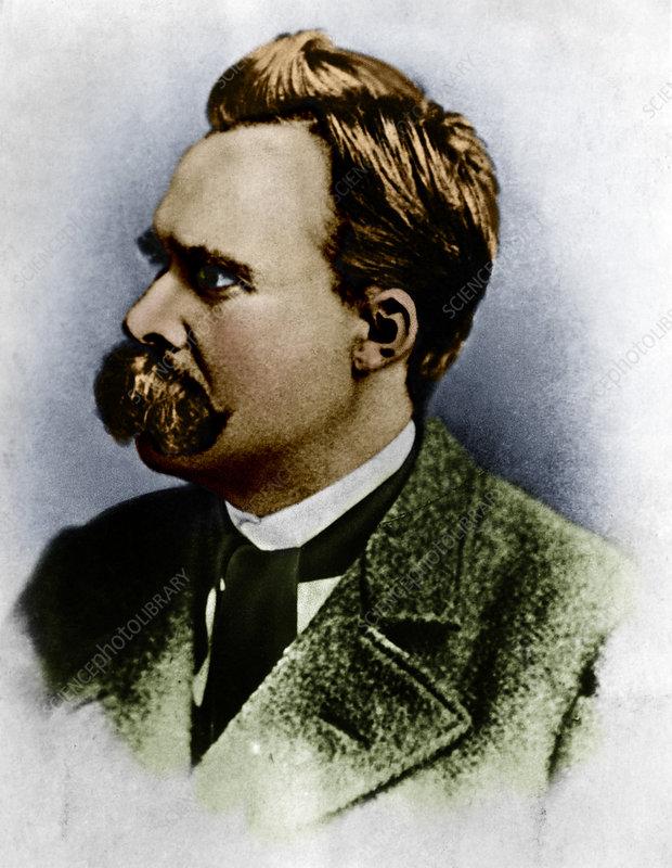 Friedrich Wilhelm Nietzsche, German Philosopher