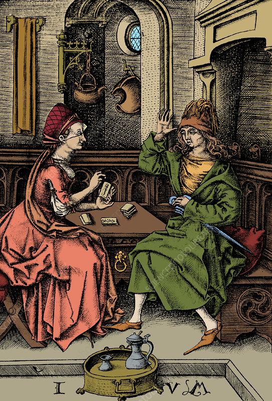 Fortune Teller, 15th Century