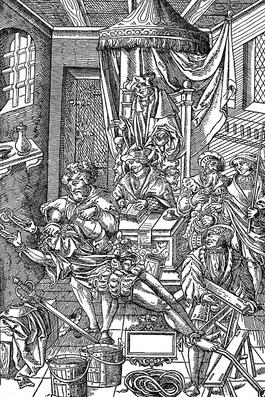 Legal Torture, Forced Ingestion of Water, 1541