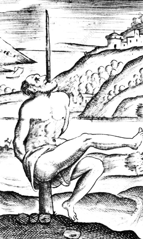 Impalement, Method of Torture and Execution, 1570