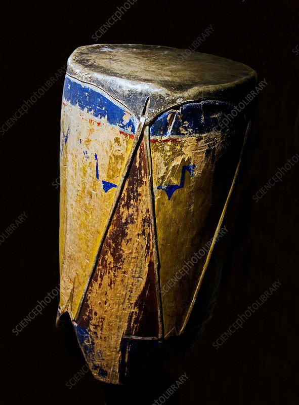 Zuni Indian Drum