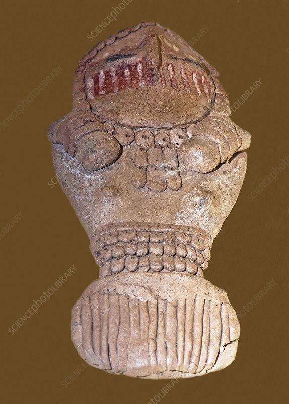 Female Clay Figurine, Fremont Culture