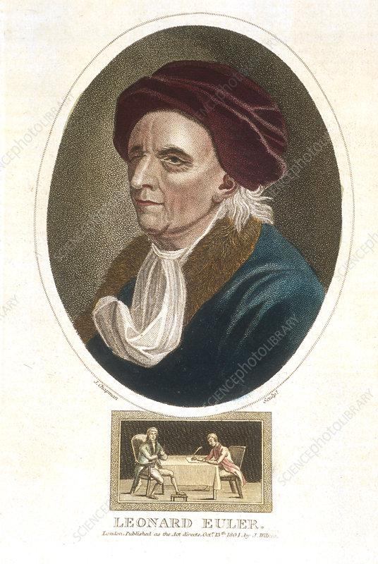 Leonhard Euler, Swiss mathematician, 1801