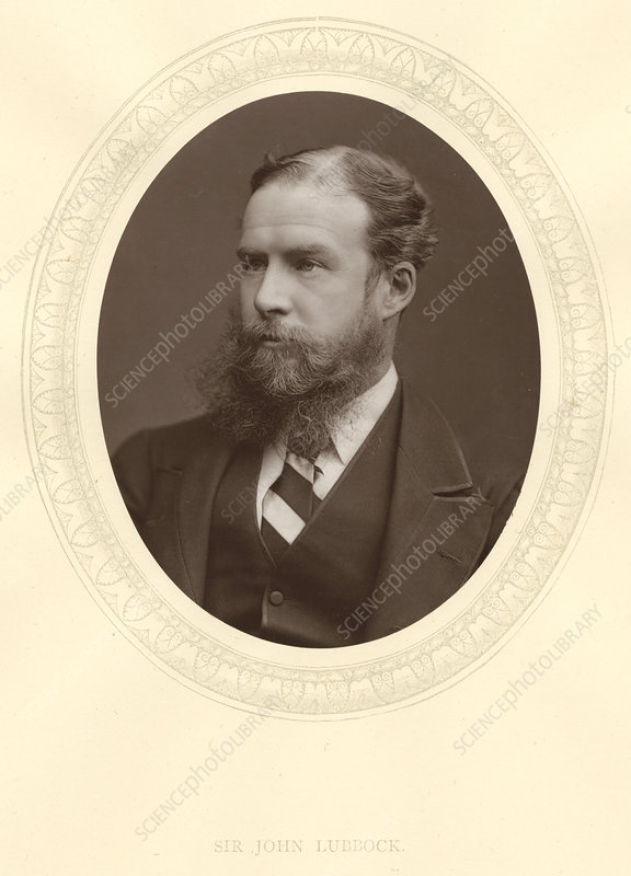 John Lubbock, English archaeologist and politician